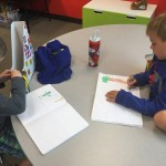 Writing and Drawing about Heroes and Villains