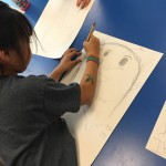 """Drawing """"Who We Are"""" and using our 5 Senses"""