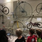 Penny-farthings and safety bicycles
